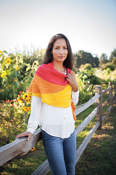 Helianthus Shawl Pattern