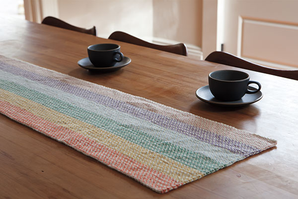 Linen Dream Rug and Table Runner Pattern