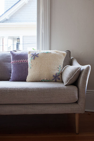 Floret Pillows Pattern