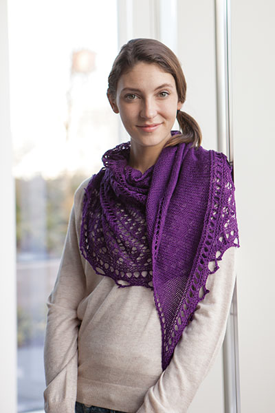 Alpine Shawl Pattern