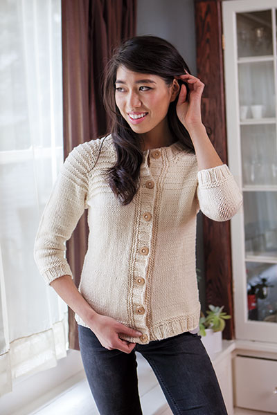 Calm Tide Cardigan Pattern