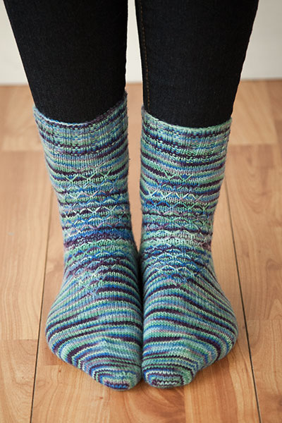 Mock Turtle Socks Pattern