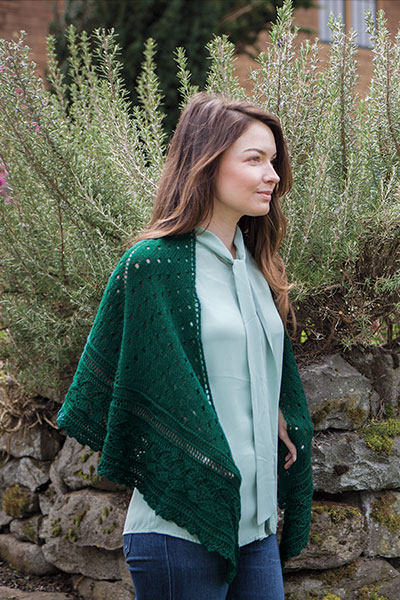 Leaf Out Shawl Pattern