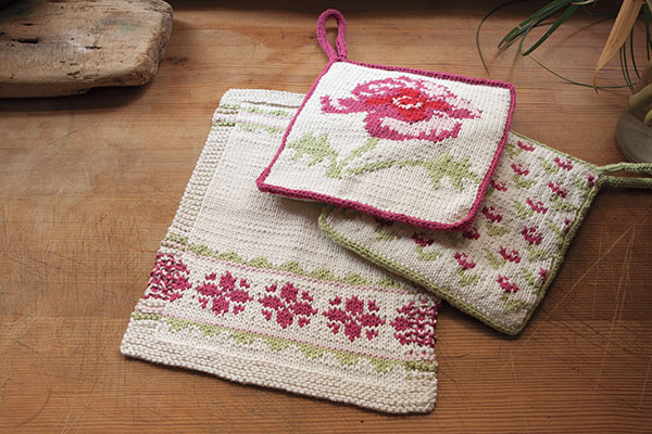 Posies Kitchen Set Pattern