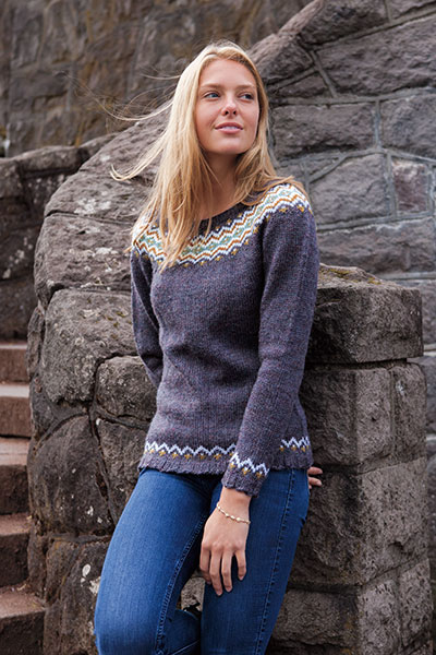 Spanra Pullover Pattern