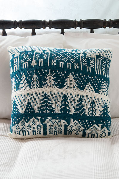 Townscape Pillow Pattern
