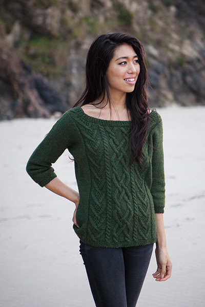Dun Laoghaire Pullover Pattern