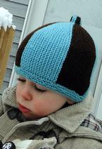 Garter Stripe Hat Pattern