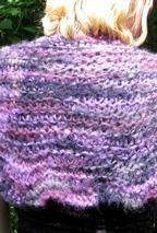 Cloud On Her Shoulders Shawl Pattern