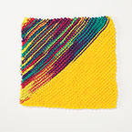 Slant Dishcloth Pattern