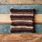 Triple Chocolate Dishcloth Pattern