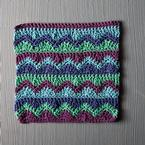 Mismatched Crochet Dishcloth Pattern
