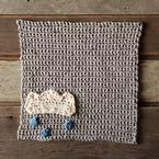 A Chance of Rain Crochet Dishcloth Pattern