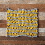 Ebb + Flow Crochet Dishcloth Pattern