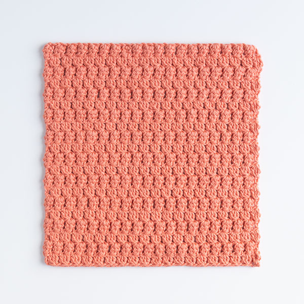 Little Leaves Crochet Dishcloth Pattern
