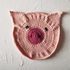 Some Pig Dishcloth Pattern