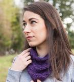 Simple Shells Cowl Pattern