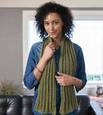 English Rib Scarf Pattern