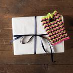 Chevron Gift Card Holder Pattern