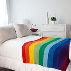 The Mighty Rainbow Blanket Pattern