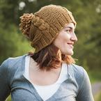 Afraid of Cables Hat Pattern