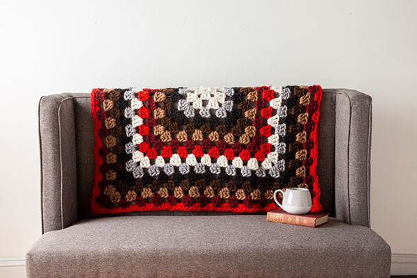 Tuff Granny Throw Pattern