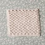 Snowbobbles Dishcloth Pattern