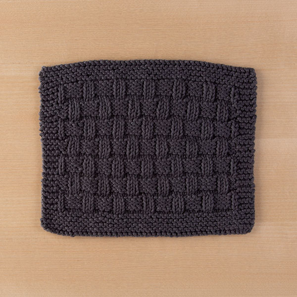 Market Day Dishcloth Pattern