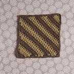 Diagonal Cloth Crochet Pattern Pattern
