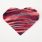 Queen of Hearts Dishcloth