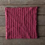 Slipped Stripes Dishcloth Pattern
