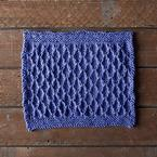 Radio Wave Dishcloth Pattern