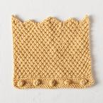 Kingly Washcloth Pattern