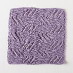 Tipsy Eyelets Facecloth Pattern