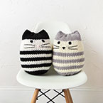 Mini Kitty Pouf Pattern