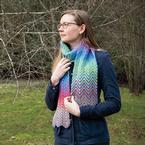Dreamy Waves Scarf Pattern