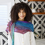 Color Shifting Shawl Pattern