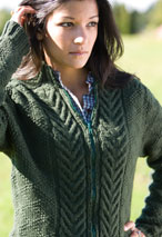 Black Oak Jacket Pattern Pattern