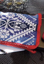 Aguona Laptop Bag Pattern Pattern