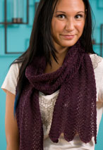 Lace 1 2 3  Throw & Scarf  Pattern Pattern