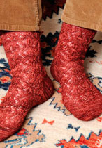 Yomut Socks Pattern