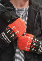 Go Dutch Mittens Pattern Pattern
