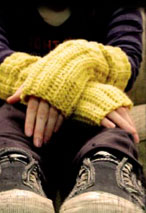 Grunge Gloves Pattern Pattern