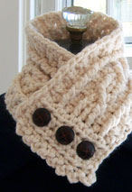 The Fisherman's Wife Neck Warmer Pattern Pattern