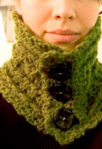 Ireland High Neck Warmer Pattern Pattern