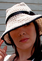 Bogart's Girl Hat Pattern Pattern