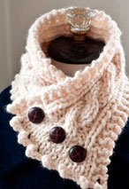 Fisherman's Wife Cowl Pattern Pattern