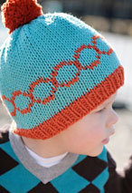 Mod Circle Hat Pattern Pattern