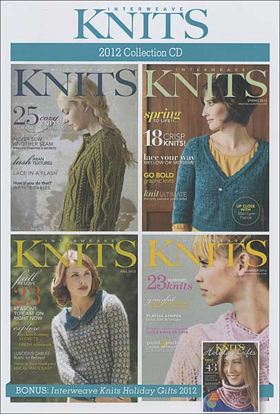 Interweave Knits 2012 Collection CD