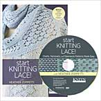 Start Knitting Lace DVD - Interweave Knits Workshop